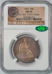 1879 Seated Liberty Half Dollar -- NGC MS65 CAC