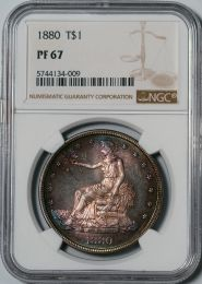 1880 Trade Dollar -- NGC PF67