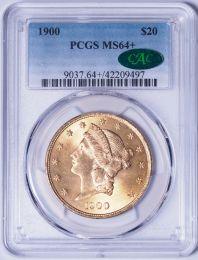 1900 $20 Liberty -- PCGS MS64 Plus CAC