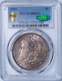 1901 Morgan Dollar -- PCGS MS63+ CAC